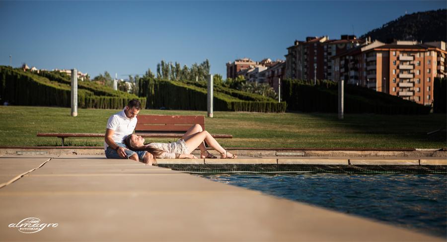 Sesión de Fotos de exterior en el parque de Bulevar de Jaén - Juan Almagro Fotografos