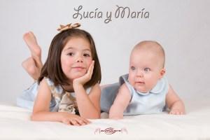 Book fotografico infantil para Lucia y Maria