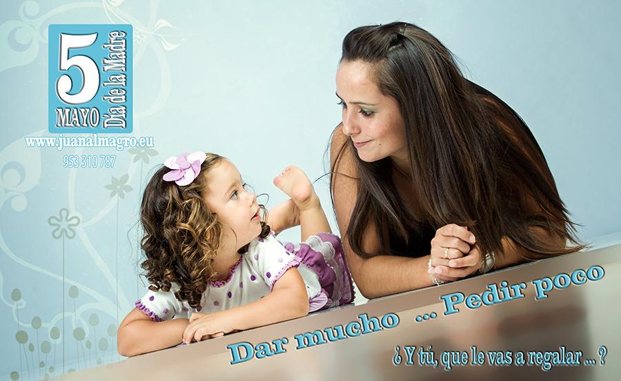 Promociones actuales Día de La Madre 2013 en Juan Almagro Fotografos.