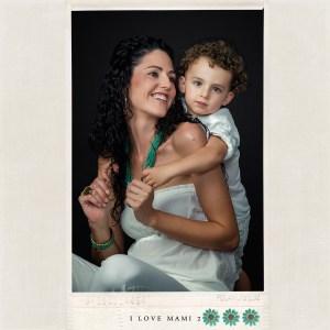 Fotografia de estudio perteneciente a la promoción I LOVE MAMI de Juan Almagro Fotografos