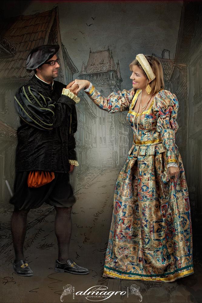 Recreacion de la época Renacentista en Valdepeñas de Jaén