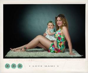 Fotografia de estudio perteneciente a la campaña I Love Mami de Juan Almagro fotografo