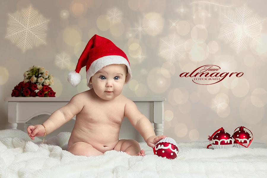 Fotografia de Niños en Estudio para navidad