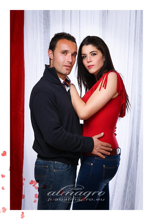 Fotografia de Estuido para el día de los enamorados por Juan Almagro Fotografo de Bodas en Jaén