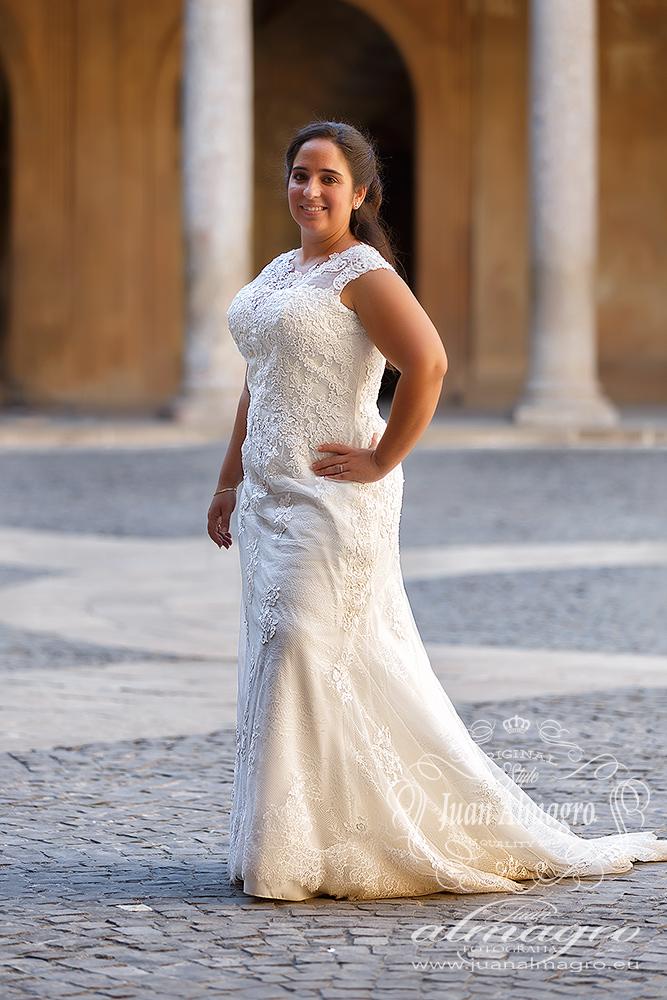Fotos postboda Palacio Carlos V de Granada