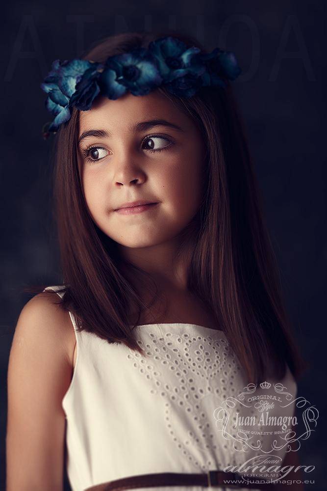 Sesiones de fotos de verano, Ainhoa retrato vintage
