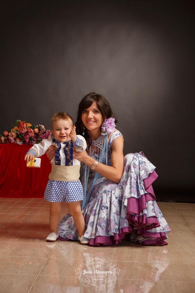Fotos estudio trajes gitana feria 2015