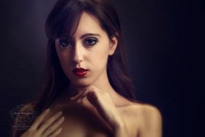 Fotografia en estudio beauty Marie Moreno por Juan Almagro Fotografos Jaén