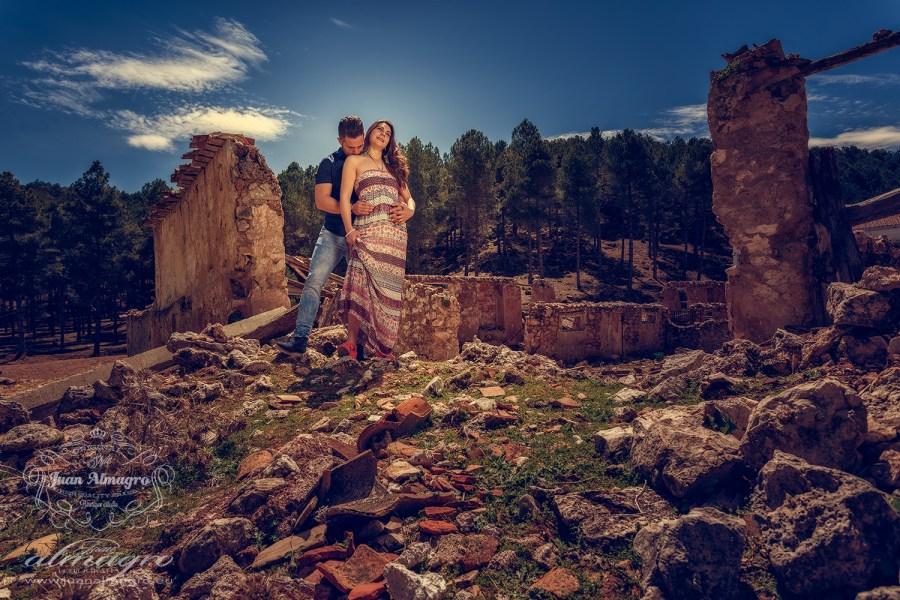 Fotografías de la sesión de exteriores de preboda Fotografos Jaén