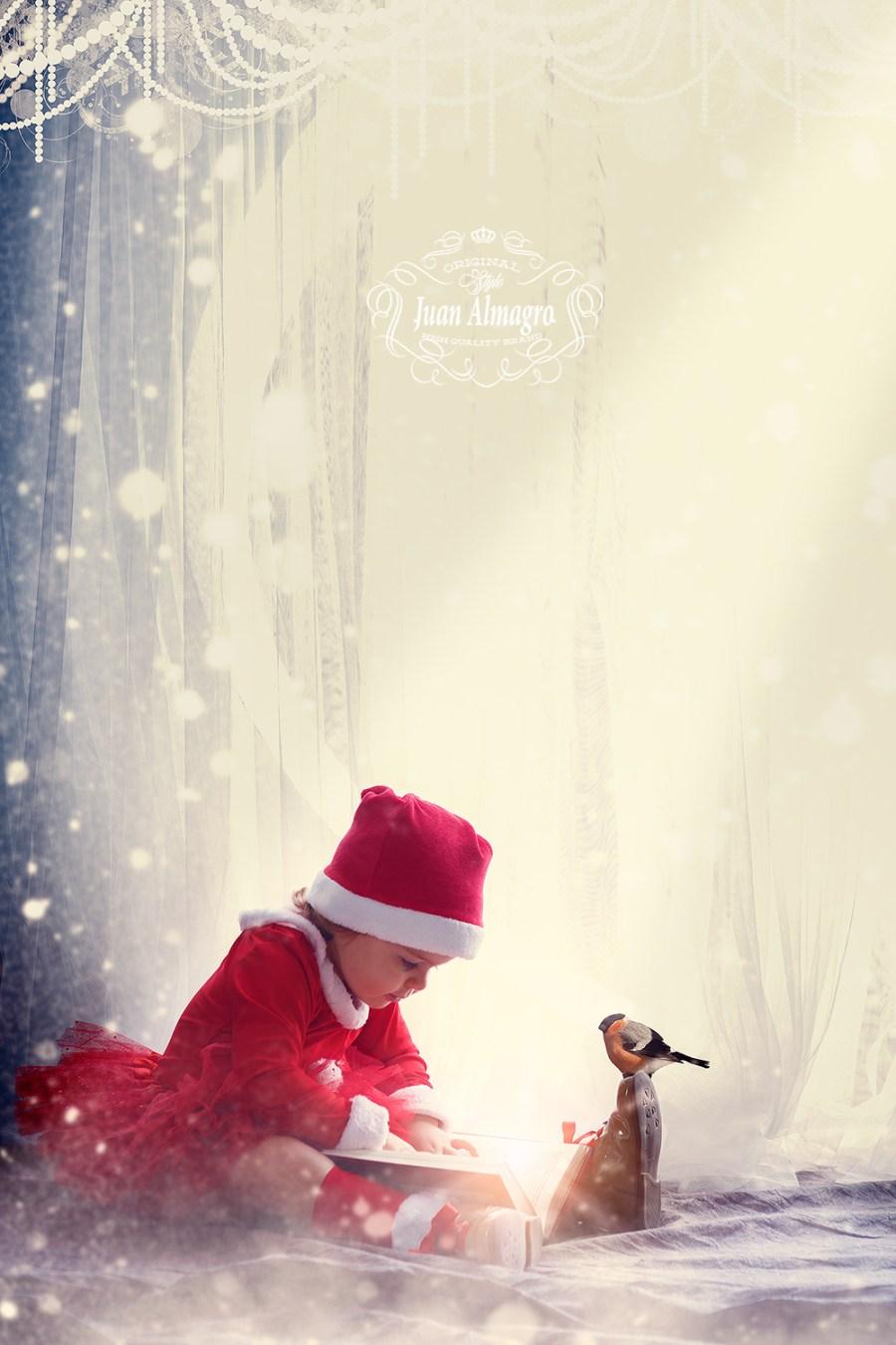 Fotografía de estudio para Navidad