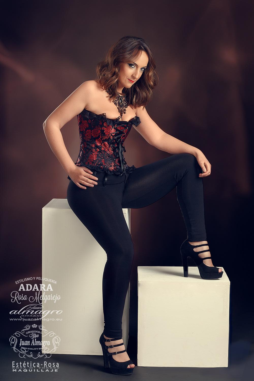 Fotografia de Fantasia para el Book personal de Miriam