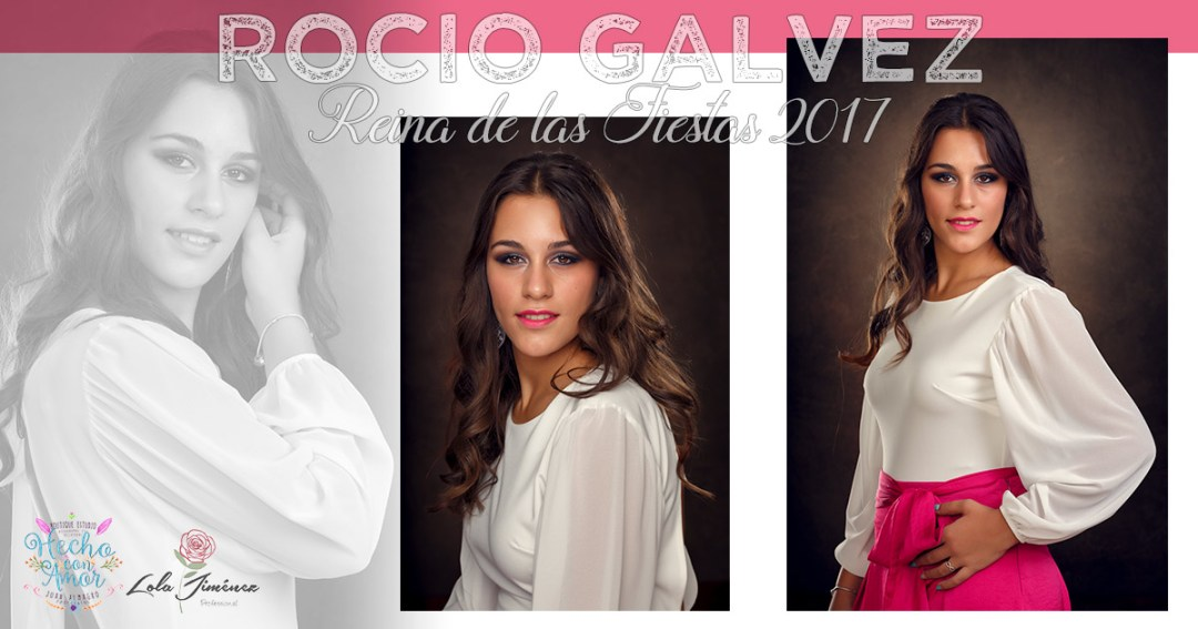 Rocio Gálvez & Ainhoa Sansaloni- Reinas de las Fiestas 2017