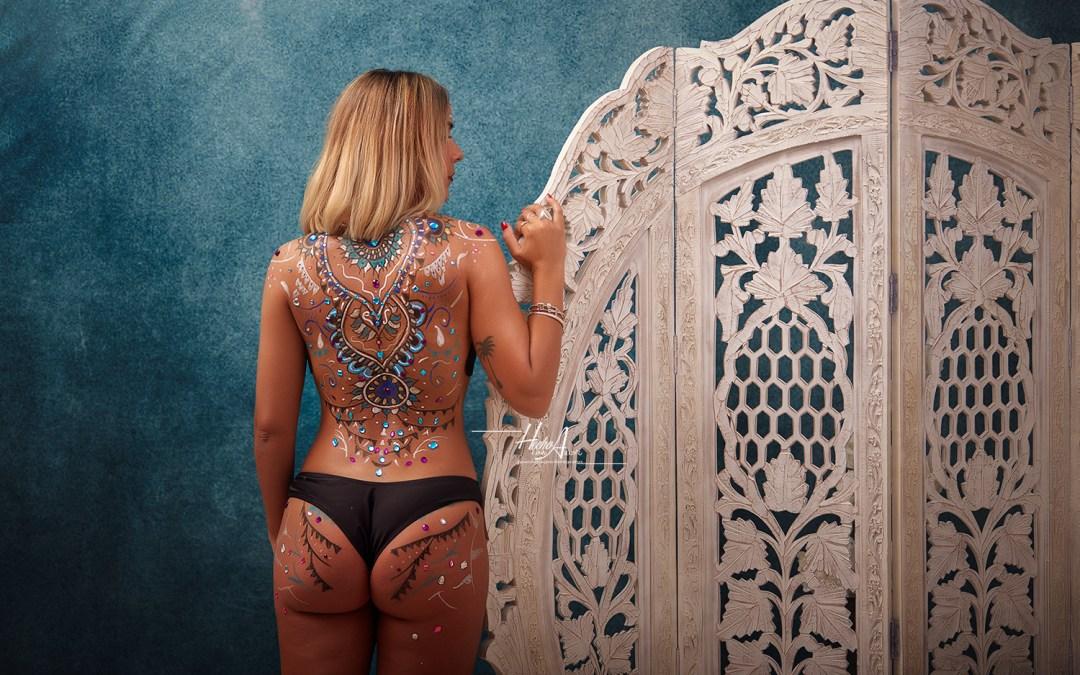 Bodypainting, el arte de la pintura corporal