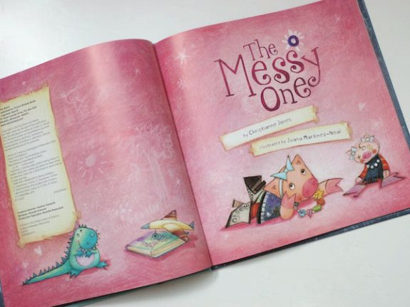 The Messy One - Title Page