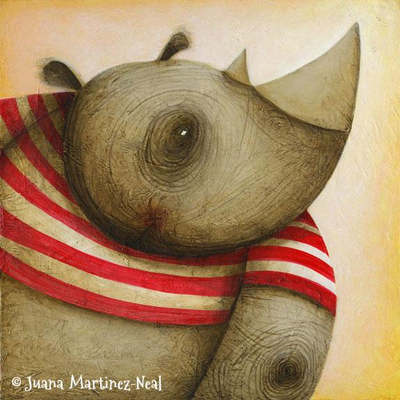 Rhino Wrinkles for Rendez Zoo