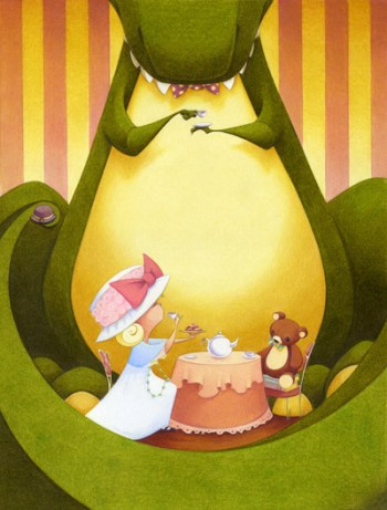 Tea Rex by Molly Idle
