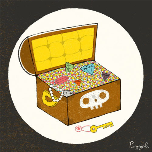 Treasure Chest by Greg Pizzoli