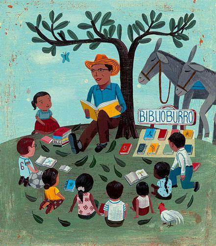Biblioburro by John Parra