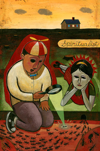 Spiritualist by John Parra