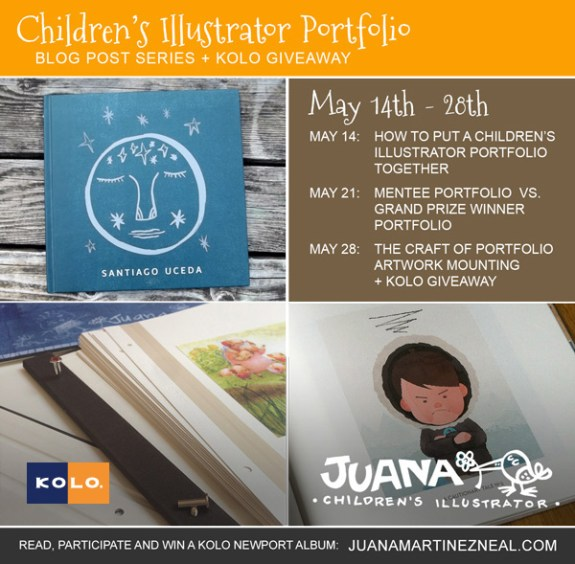 Children's Portfolio Series and Giveaway