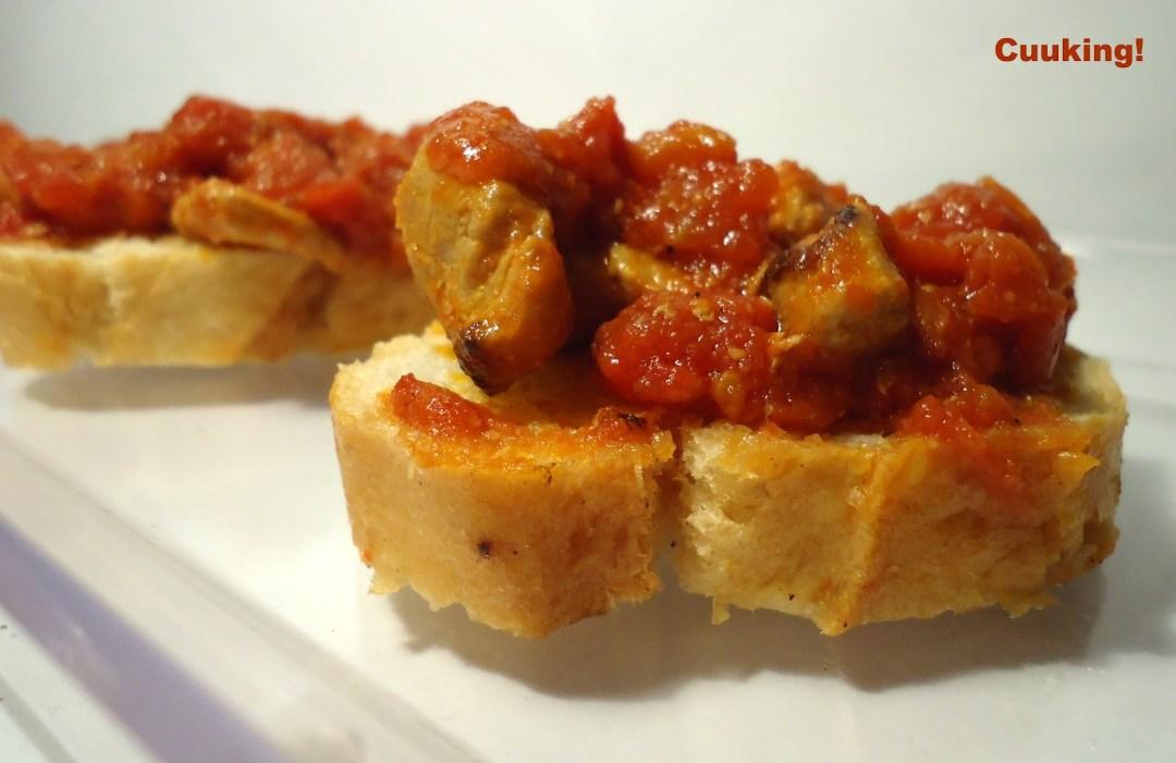 Tapa de lomo con tomate