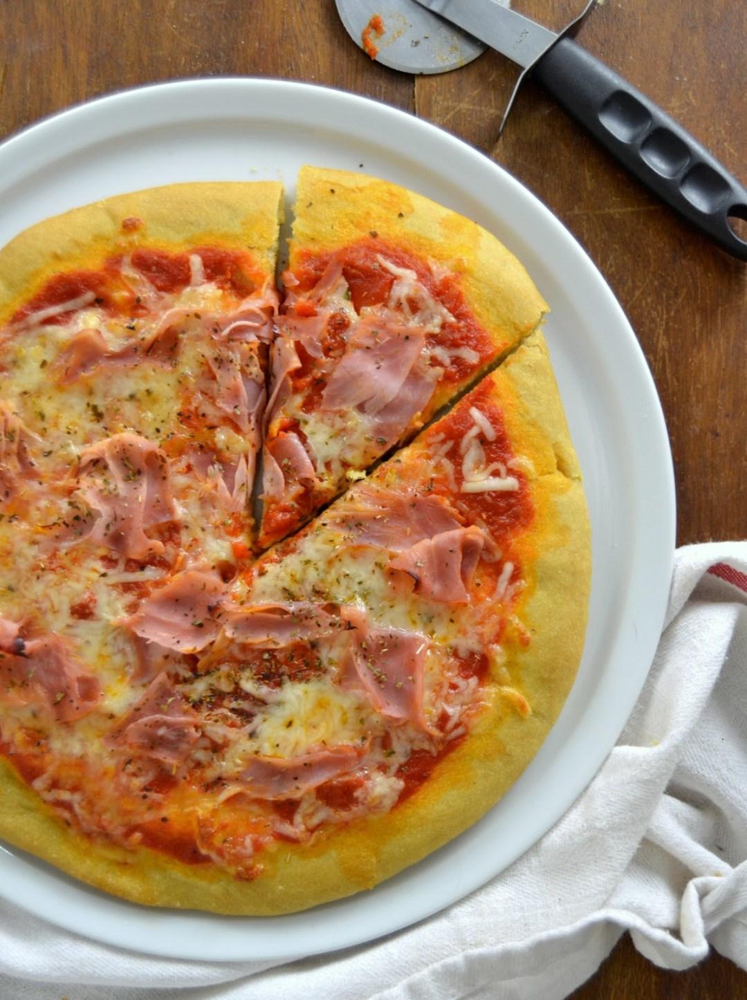 Masa de pizza casera ¡Sin complicaciones!