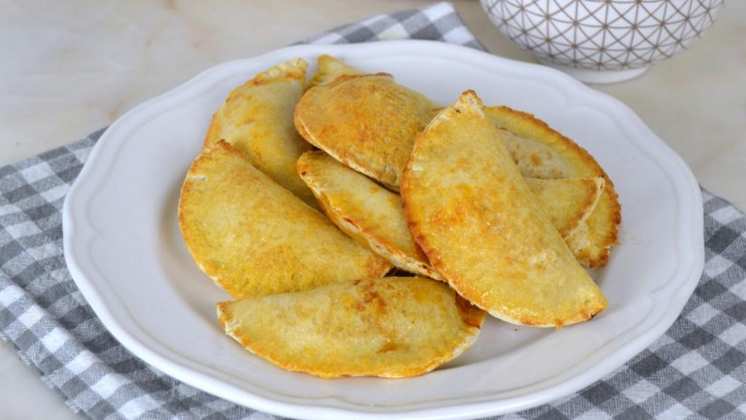 Empanadillas de atún ¡Con pan de molde! al horno