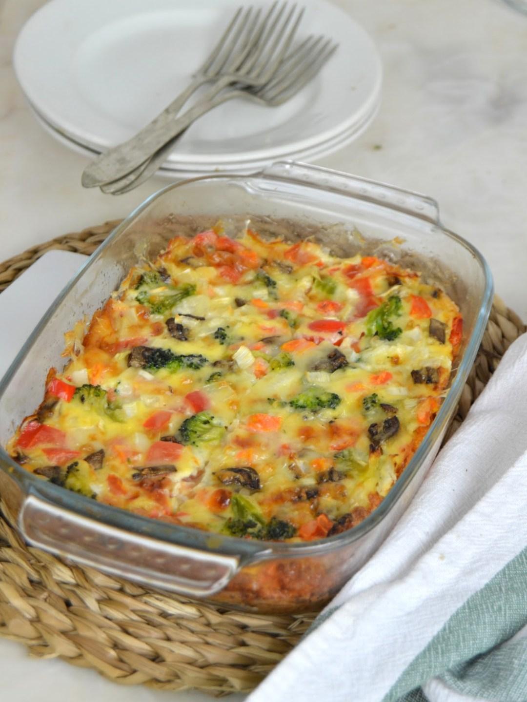 Pastel de verduras express ¡Fácil y delicioso!