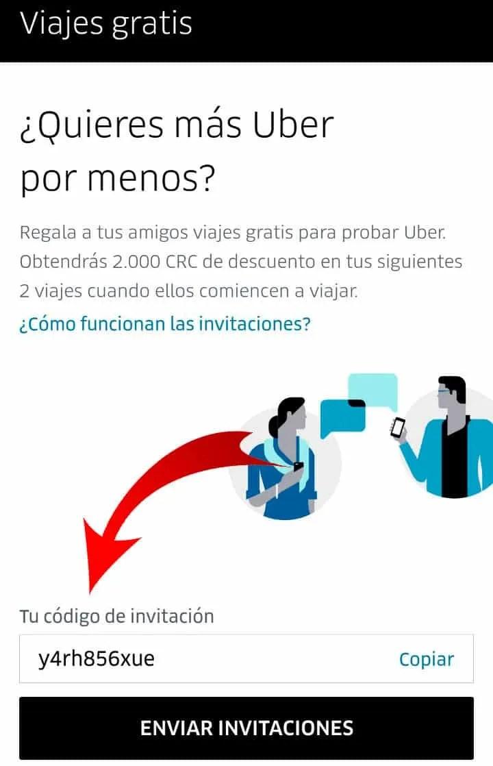 Viaja Gratis Con Uber en Costa Rica