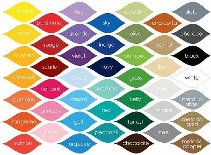 paleta de colores psicología del color