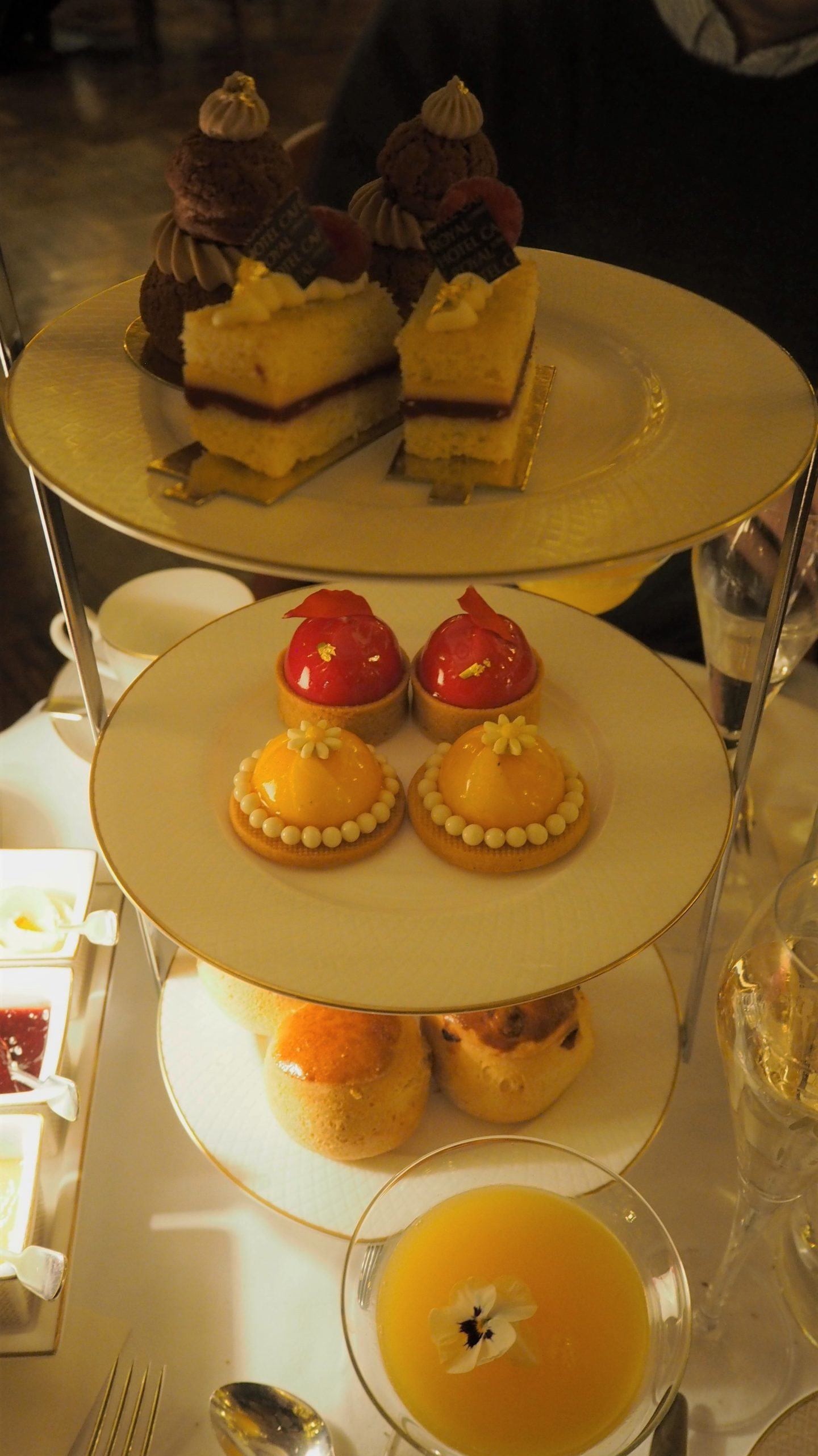 afternoon tea selection of treats