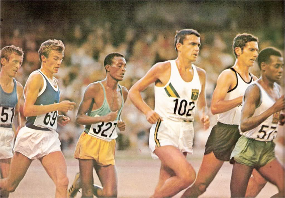 Image result for 1968 10000 metres images