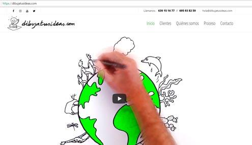 Web DibujaTusIdeas
