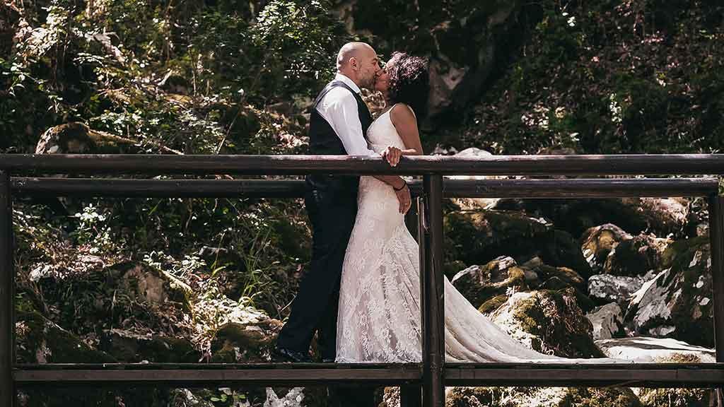 Post boda en entorno rural