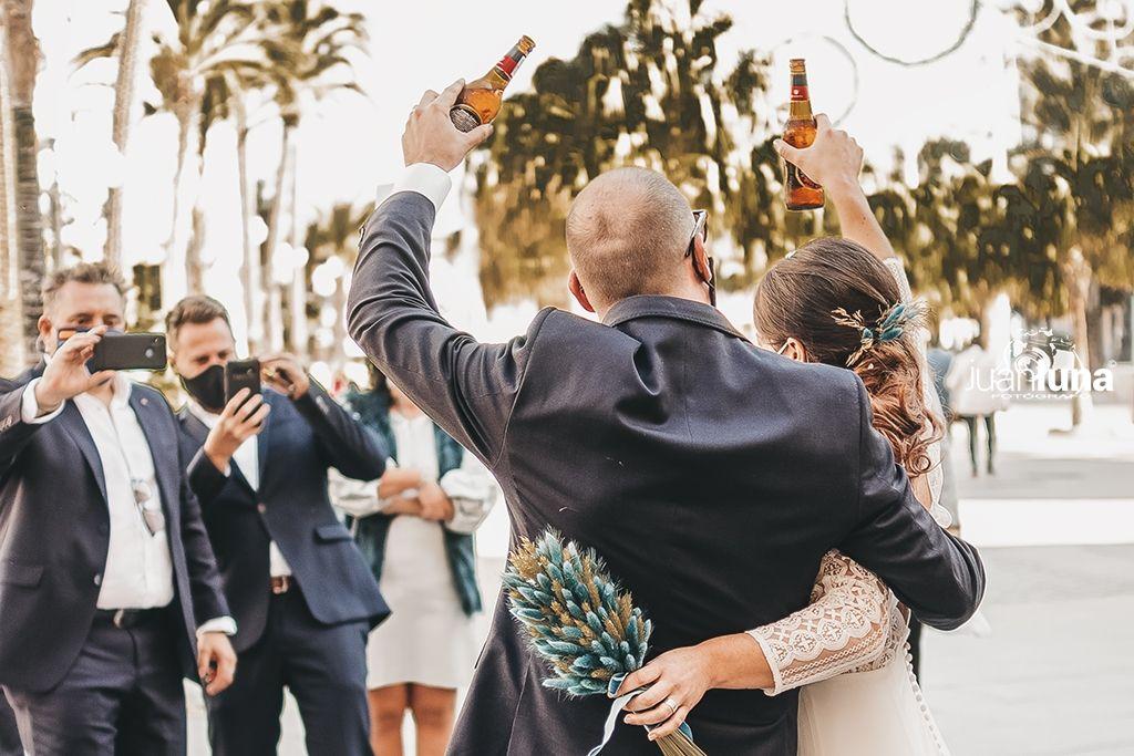 Fotografía de boda en cadiz. Reportaje de boda de Olga y Dani en Cádiz.