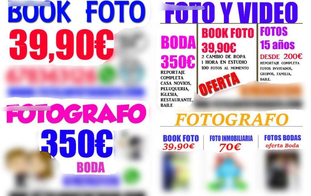 fotografos baratos
