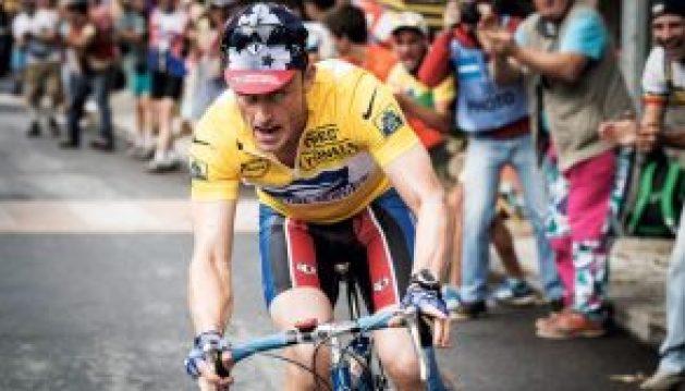Foster, en la piel (amarilla) de Armstrong.