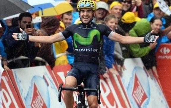 Jon Izagirre, único triunfo español en un Tour de otros. AFP