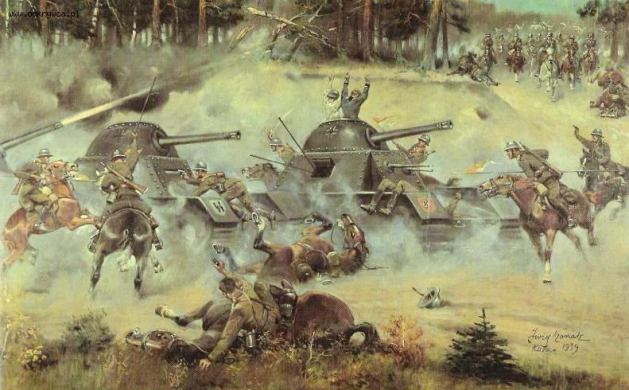 La caballería polaca contra los Panzer nazis. Mito o no tanto.
