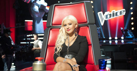 Christina Aguilera 10 Latinos in Entertainment
