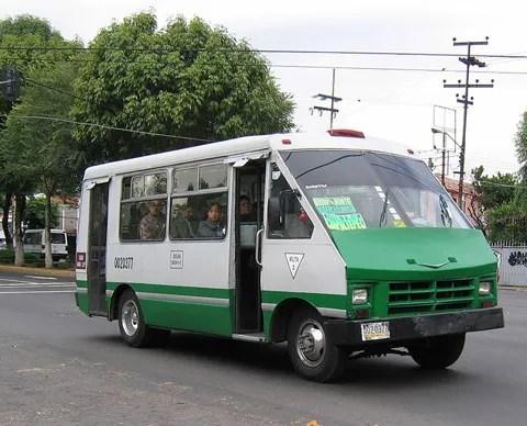 microbus en mexico