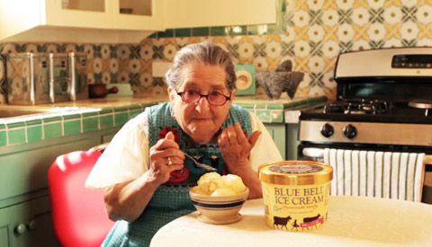 blue bell ice cream abuelitas