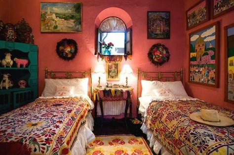 Mexican bedroom