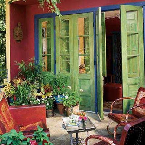 Mexi-Living: Decorative Ideas For The Mexican Home ... on Mexican Patio Ideas  id=17712