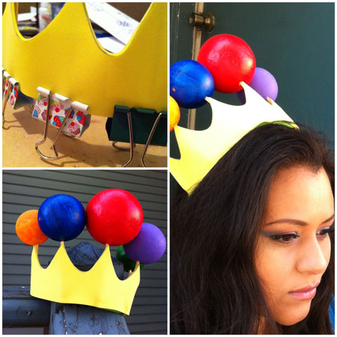 Last Minute Do-It-Yourself Halloween Accessories Princess Lollipop candyland juanofwords la_anjel anjelica