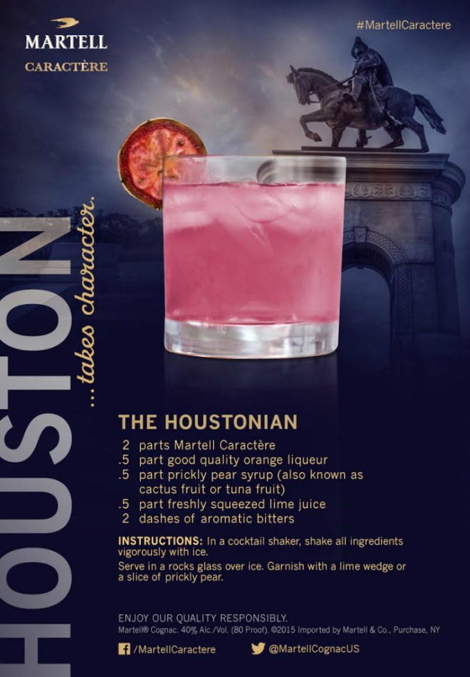 Houston, you have a new signature drink!