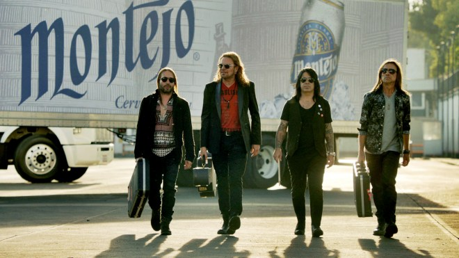 Mexican rockers & Mexican beer