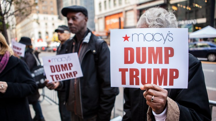 "What ""Dump Trump"" has meant for U.S. Latinos"