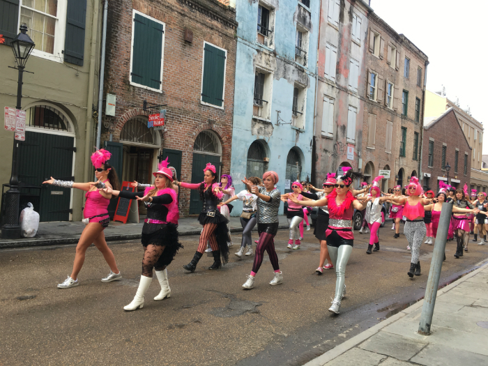 Learning to Laissez Les Bon Temp Rouler in New Orleans