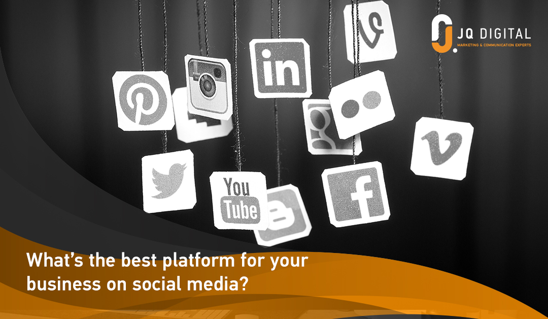 What's the best platform for your business on social media?